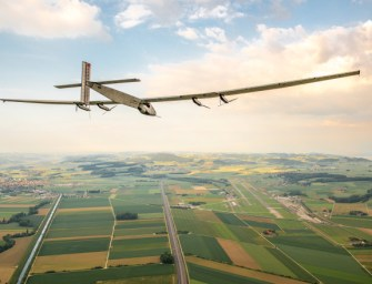 A Solar-Powered Plane is All Set to Go Round-The-World