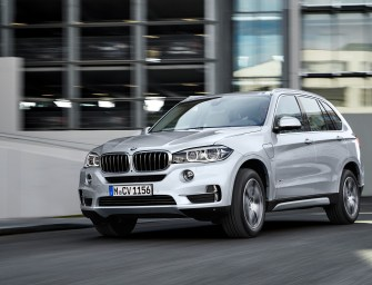 BMW Brings Out The X5 xDrive40e, its First Plug-in Hybrid