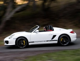 Porsche Uncovers Yet Another Car Among its Aggressive Line-Up, The Boxster Spyder