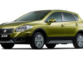 Suzuki Showcases the India-Bound S-Cross at Shanghai Auto Show 2015