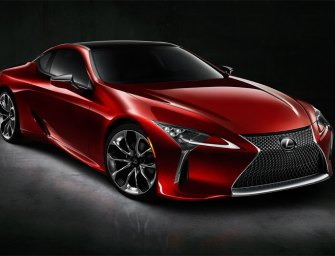 Lexus LC 500 is a Jaw Dropping 467-Hp Luxury Coupe