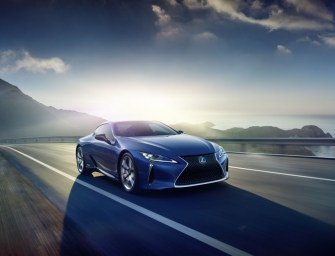 Lexus LC 500h to Debut at the Geneva Motor Show