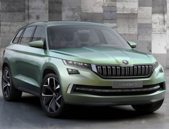 This is Skoda's Artistic VisionS Concept SUV