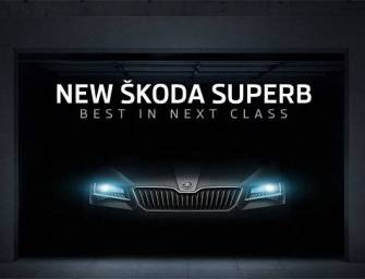 New Skoda Superb to Launch in India on February 23