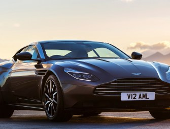 Aston Martin DB11 Unveiled at Geneva Motor Show
