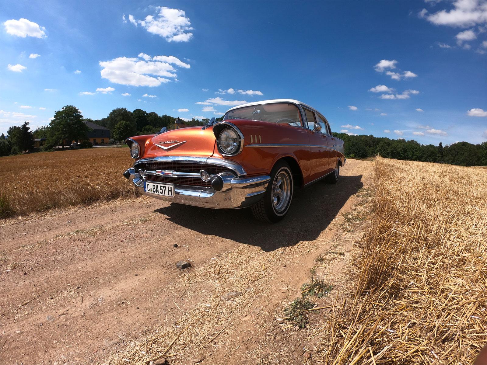 AUTOHAUS WEST CHEMNITZ:Chevrolet Bel Air 1956