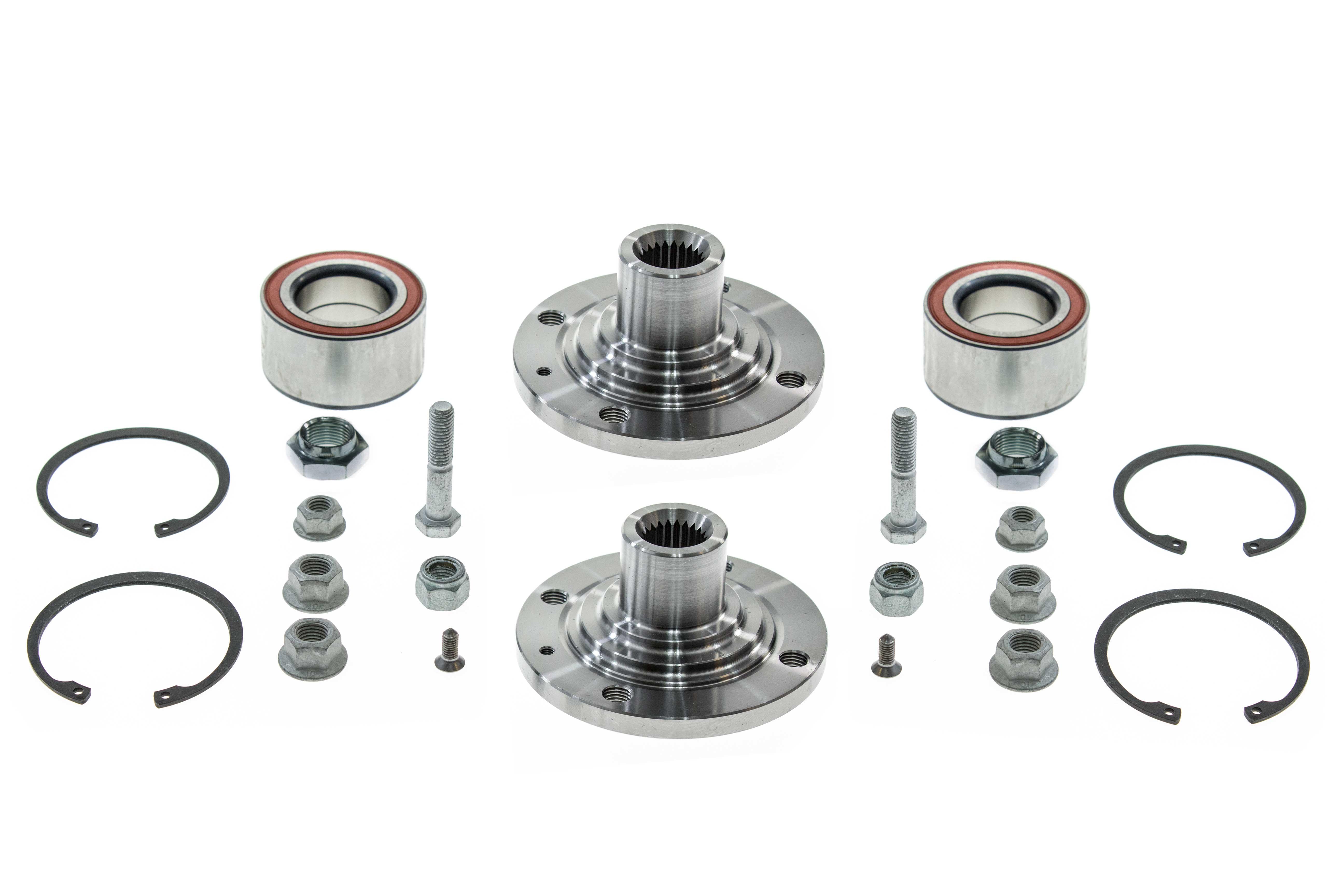 Aaz Preferred Vwfthub1kit Wheel Bearing Kit Front Hubs