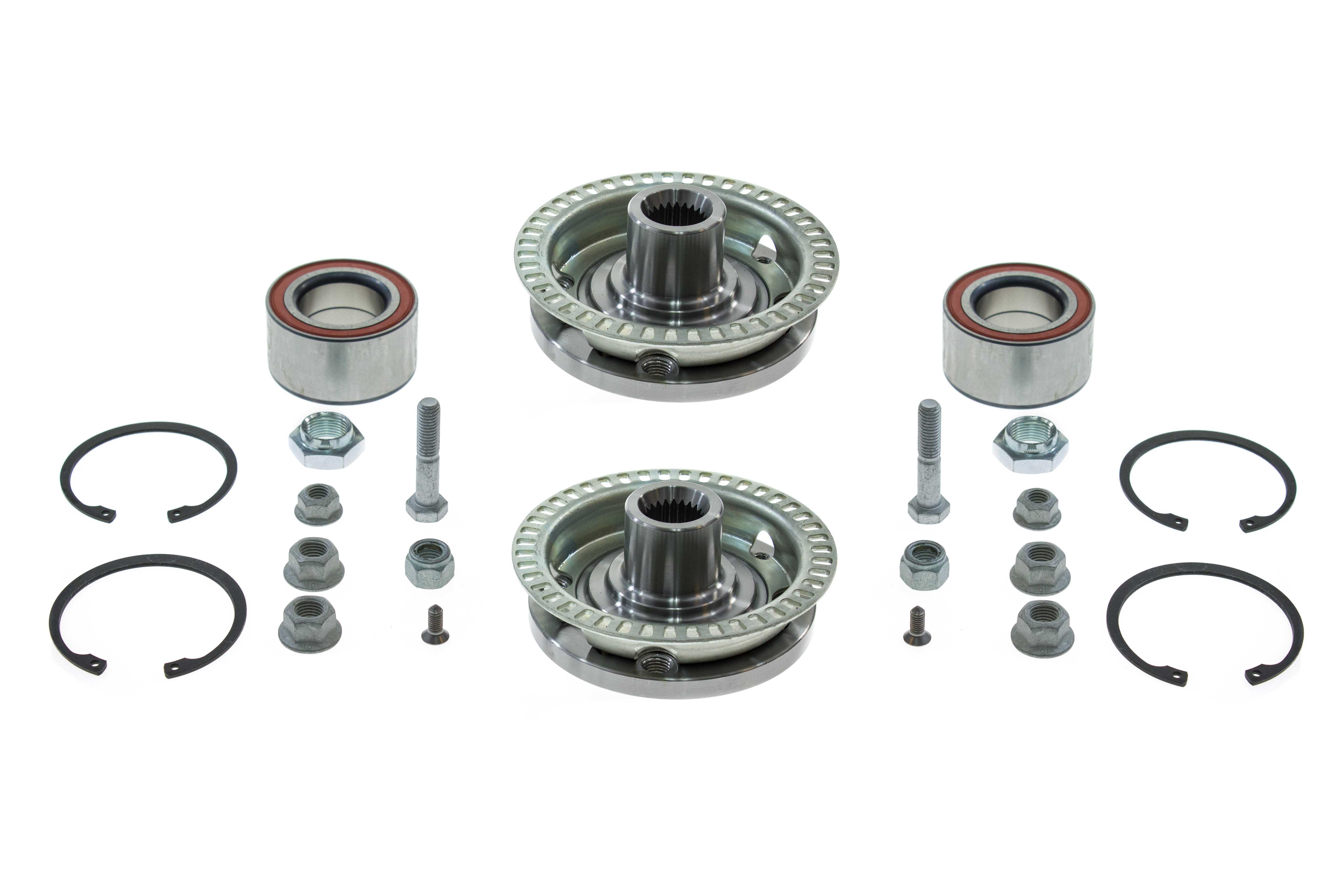 Aaz Preferred Vwfthub2kit Wheel Bearing Kit Front Hubs