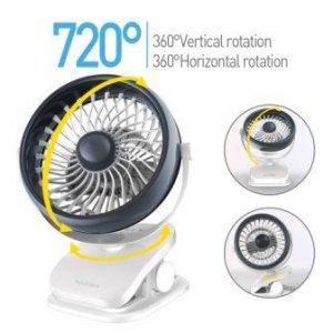 Mosquito repellent clip on fan
