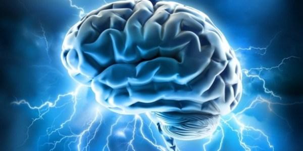 Vision d'artiste du pouvoir de l'esprit : un cerveau éléctrisé