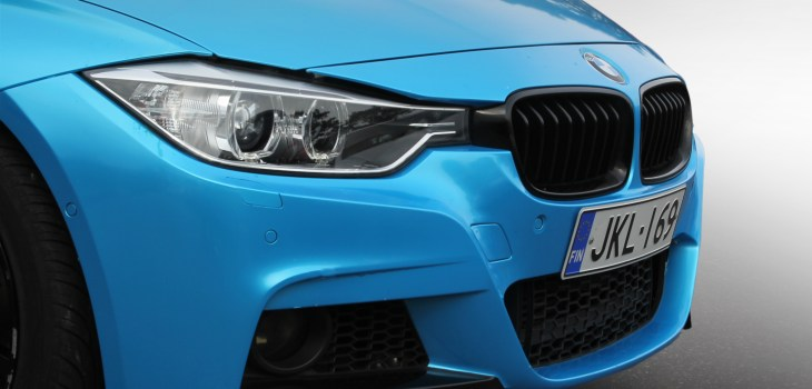 Opetusautona BMW