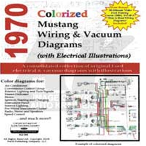 cdrom 1970 ford mustang colorized wiring vacuum diagram