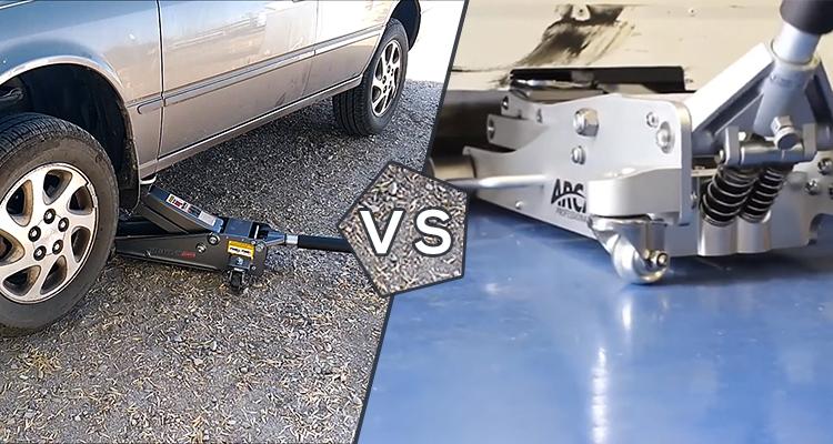 Aluminum vs Steel Floor Jack