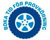boka tid för provkörning logo