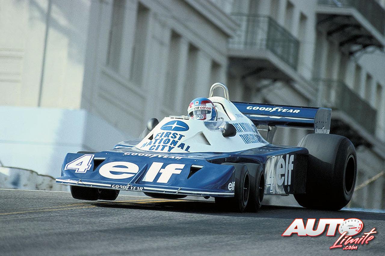 09 Patrick Depailler Tyrrell Ford P34 Gp Usa West 1977