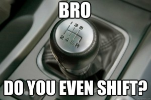 The war between auto and manual drivers rages on...