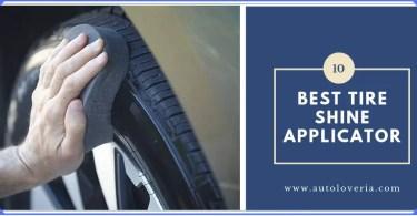 Best Tire Shine Applicator
