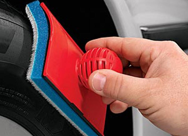 Brush King - Tire Shine Applicator and Detailing Tool
