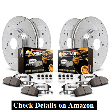 Power Stop K6268-36 Z36 Truck and Tow Front and Rear Brake Kit