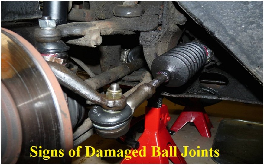 Signs of Damaged Ball Joints