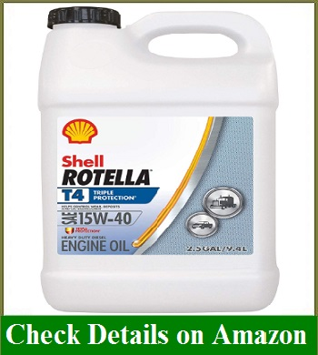 Shell Rotella T4 Triple Protection Conventional 15W