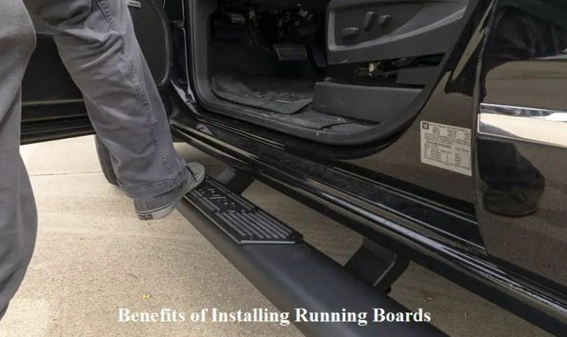 Benefits of Installing Running Boards