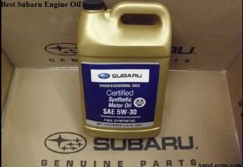 Best Oil Brand for Subaru