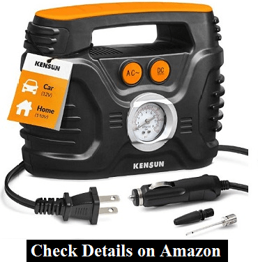 Kensun AC-DC Power Supply Portable Air Compressor Pump