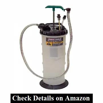 OEMTOOLS Manual Extractor 24397 9.5 Liter Hand-Pump Evacuator