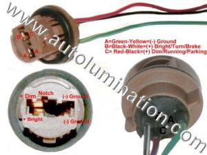 Automotive Car Truck Light Bulb Connectors Sockets Wiring Harnesses Receptacles