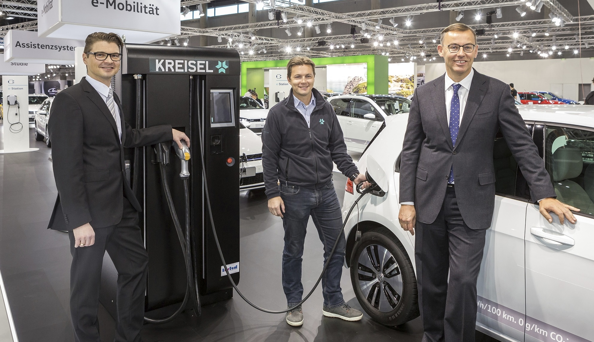 Kooperation Porsche Holding Salzburg - Kreisel Electric