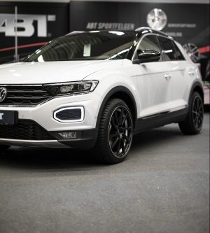 VW T-Roc schräg hochkant