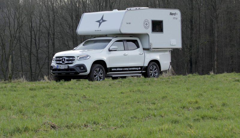X-Klasse als Camper