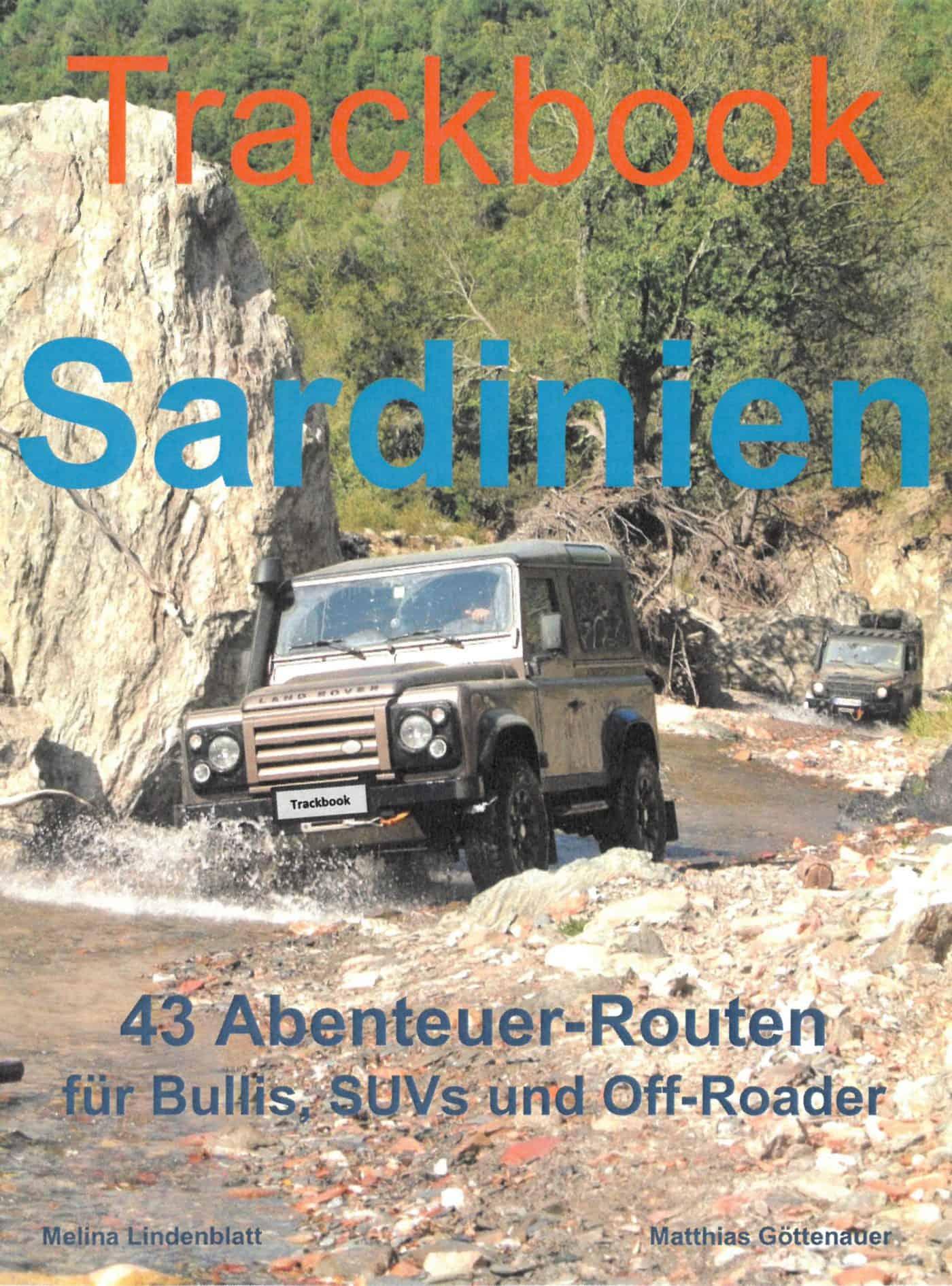 Trackbook Sardinien
