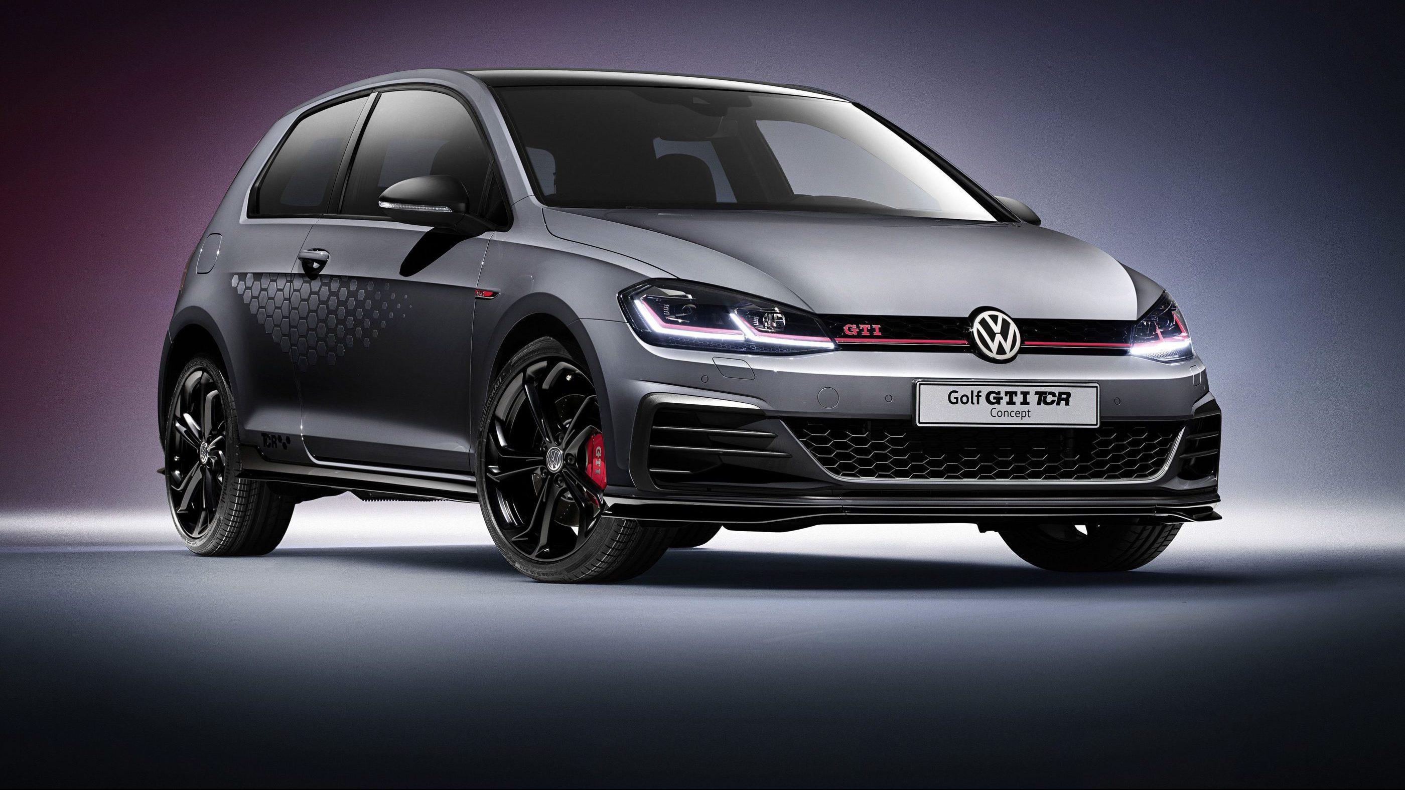 VW Golf GTI TCR Concept neu