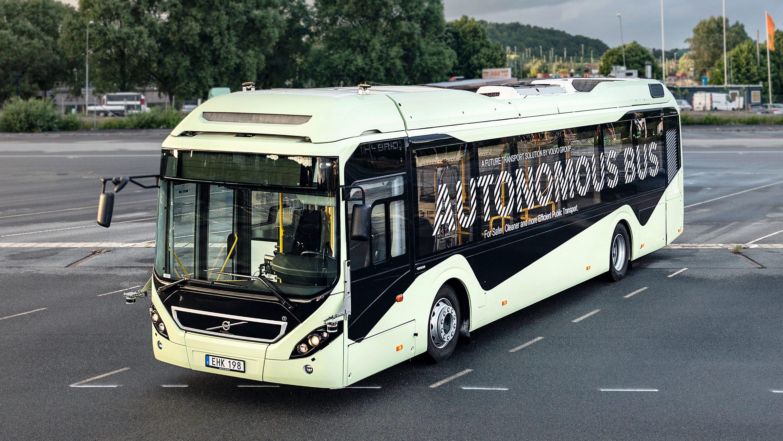 Volvo autonomer E-Omnibus