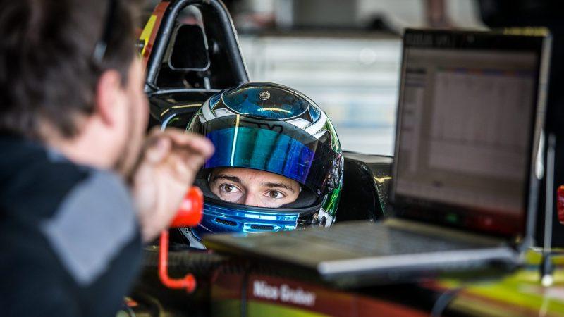 Nico Gruber Formel 4 Slovakiaring_Cockpit