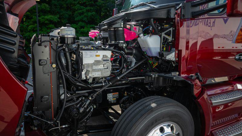 Kenworth mit Toyota Brennstoffzelle Antrieb