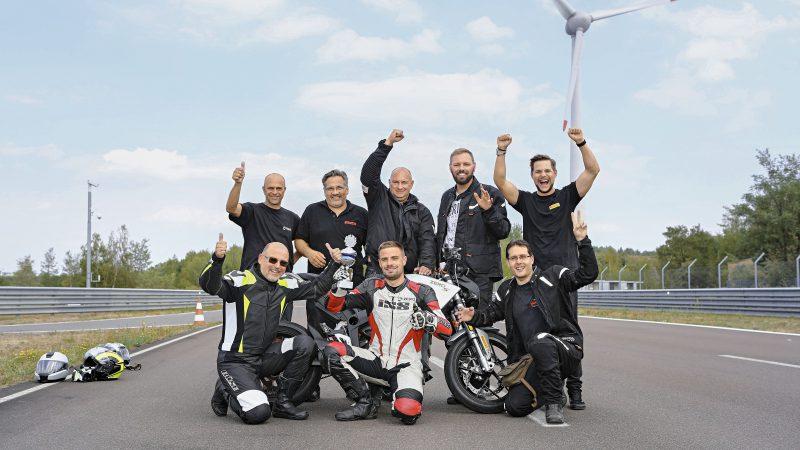 24 h Weltrekord Zero;Motorrad_Team