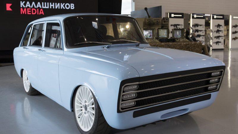 Kalaschnikow CV-1_vorne