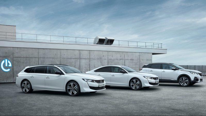 Peugeot 3008 und 508 Plug-in Hybrid