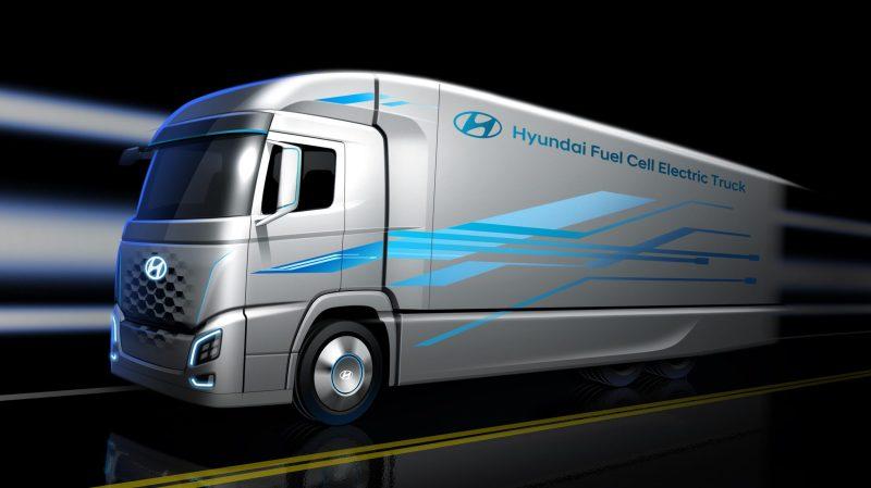 hyundai f-cell Truck