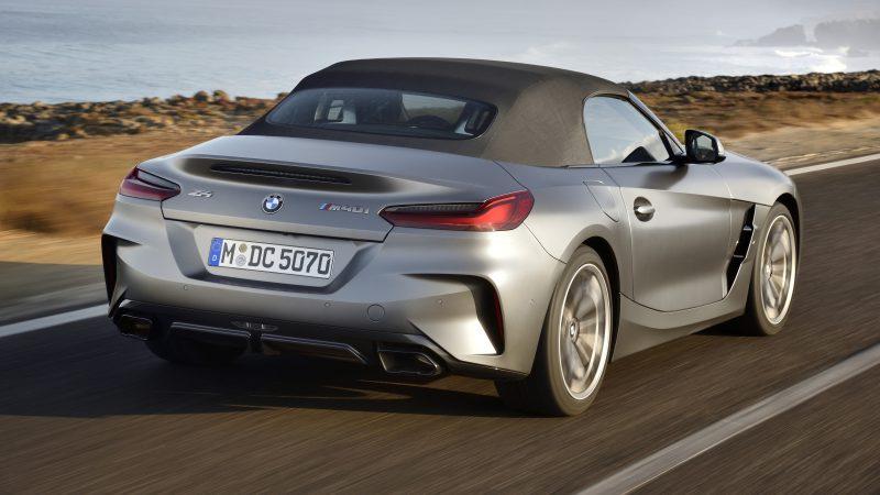 BMW Z4 Vorstellung_hinten