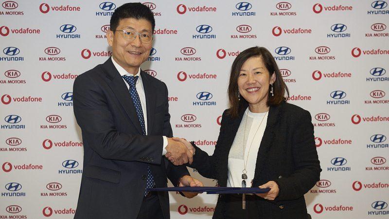 Hyundai,Kia und Vodafone - Kooperation