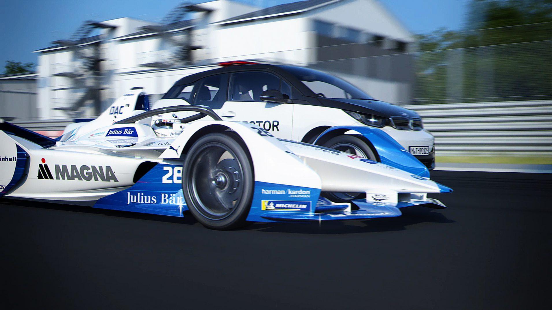 BMW iFE.18 und BMW i3 Formula E
