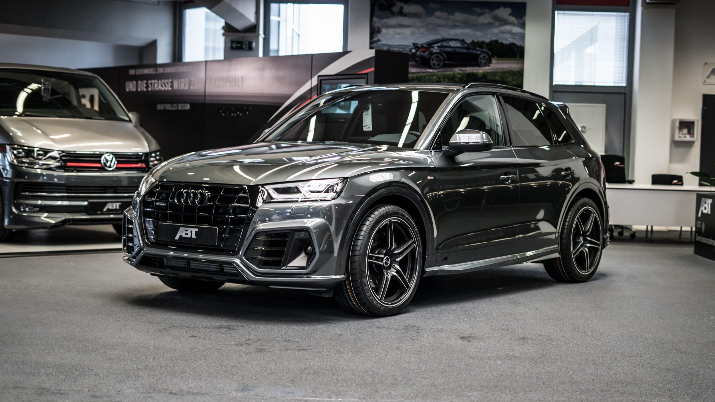 Abt Audi Q5 Heckschürzenset_Front