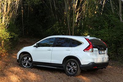 Honda CR-V'nin dördüncü nesline merhaba