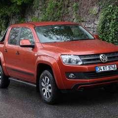 Yiğit Top yeni VW Amarok Canyon'u kullandı