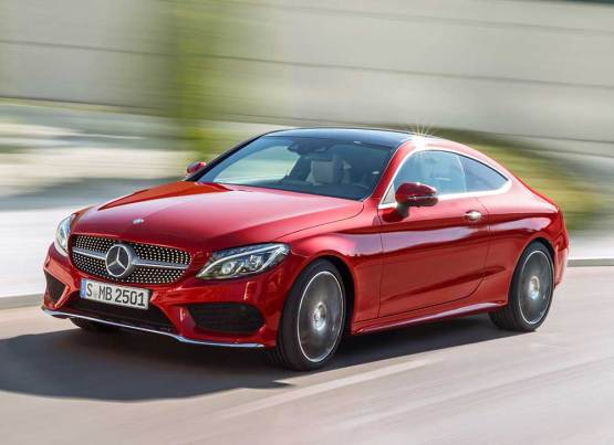 MERCEDES C-SERİSİ COUPE