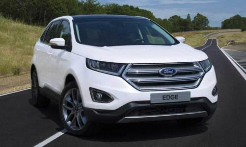 Ford Edge'in Avrupa versiyonu Frankfurt'u bekliyor